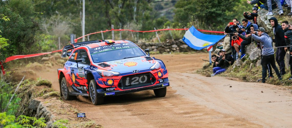 AUTOMOBILE: WRC Argentina - 25/04/2019