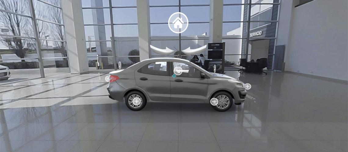 Consecionario Virtual Ford - Arriba de lado a lado