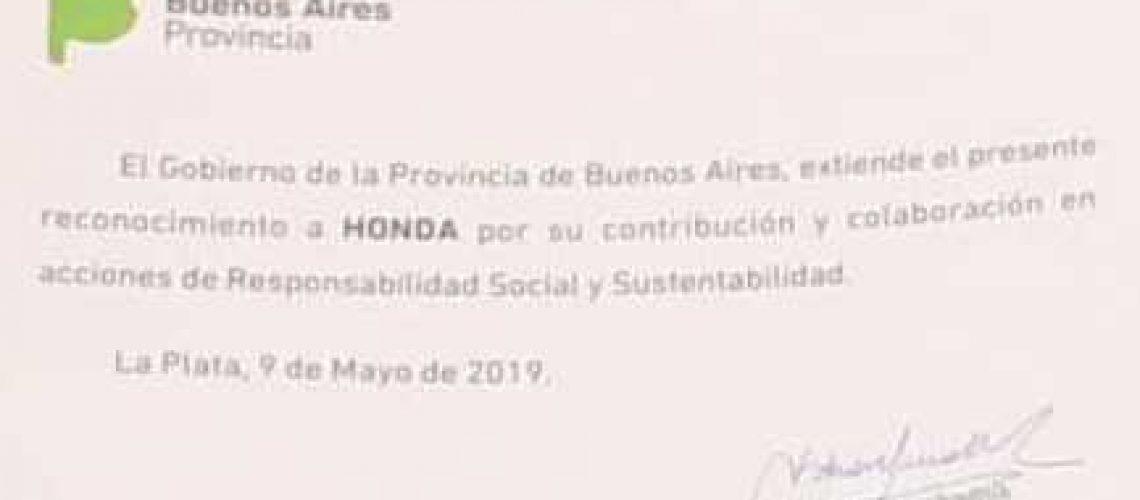 Honda - CSR Pcia Buenos Aires